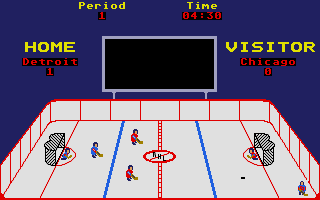 World Class Hockey atari screenshot